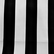 Runner Black and White Stripe Thin