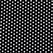 Runner Black with White Polka Dots