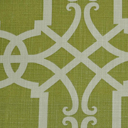 Runner Lattice Print Lime and White
