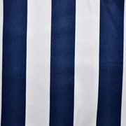 Runner Navy and White Thick Stripe Print A