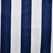 Runner Navy and White Thick Stripe Print B