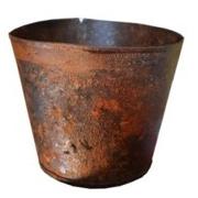 Rust Bucket No Handle Small