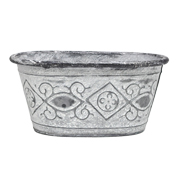 Rustic Oval Planter Small