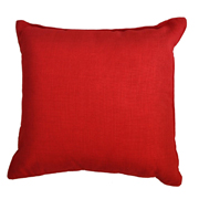 Rustic Weave Cushion Cover Red