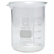Science Vessel Beaker A 600ml