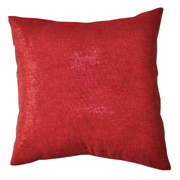Shimmer Glitter Gauze Cushion Cover Red