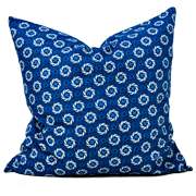 Shweshwe Print Cushion Cover K