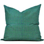 Shweshwe Print Cushion Cove L