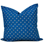 Shweshwe Print Cushion Cover J