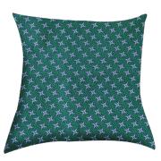 Shweshwe Print Cushion Cover A