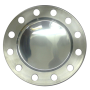Silver Metal Baseplate with Holes
