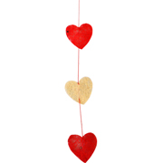 Sisal Heart Garland