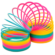 Slinky Multi Coloured Large