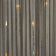 Snow Fall Curtain White Wire Warm Light