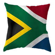 South African Flag Cushion Cover