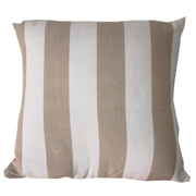 Stone Broad Stripe Cushion Cover Large