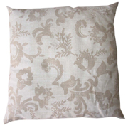 Stone Floral Cushion Cover Big Dark on Light