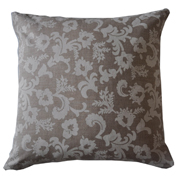 Stone Floral Cushion Cover Big Light on Dark