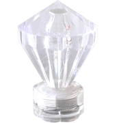Submersible LED Light Warm Light Diamond Cap