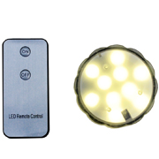 Submersible LED Remote Warm White Only