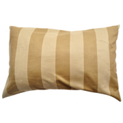 Suede Cushion Cover Beige and Stone Rectangle