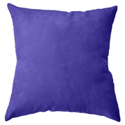 Suede Cushion Cover Big Royal Blue