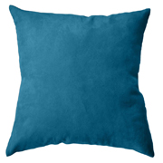 Suede Cushion Cover Big Turquoise