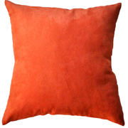 Suede Cushion Cover Small Orange
