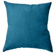 Suede Cushion Cover Small Turquoise