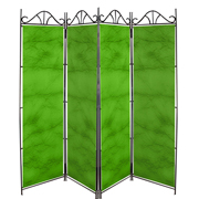 Taffeta Room Divider Covers Apple Green Crush