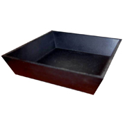 Tapered Wooden Tray Small