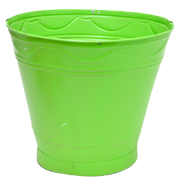 Tin Bucket Large Assorted Colours
