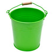 Tin Bucket Small Green