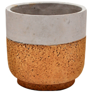 Two Tone Ceramic Pot Medium