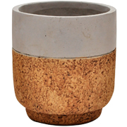 Two Tone Ceramic Pot Small
