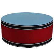 Upholstered Cylinder Poly Riser B