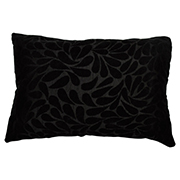 Velvet Rectangle Cushion Cover Floral Detail