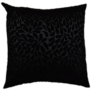 Velvet Square Cushion Cover Floral Detail