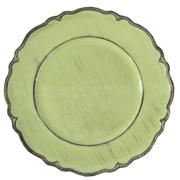 Venetian Under Plate Avo Green