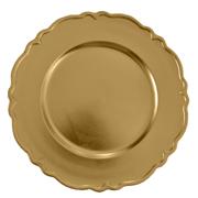 Venetian Under Plate Gold