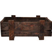 Vintage Wooden Crate B