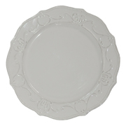Vintage Style Platter Off White