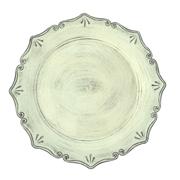 Vintage Under Plate Ivory