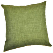 Rustic Weave Cushion Cover Dull Lime Green