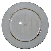 White Under Plate