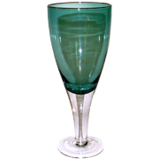 Wine Goblet Turquoise