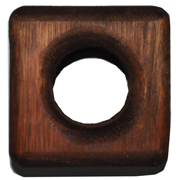 Wooden Square Napkin Ring