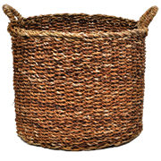 Woven Basket Oval D