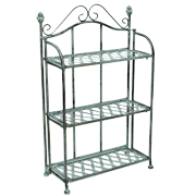 Wrought Iron Pot Plant Shelf 3 Rack