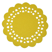 Yellow Felt Placemat Large